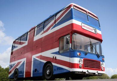 Hospede-se no ônibus do filme das Spice Girls